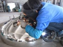Vessel / Tank Under Welding Process
