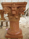 Finish Product of Quyang Red Marble