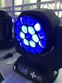 Stage Wash 19*15W RGBW 4in1 LED Wash Zoom Moving Head Light Big Bee Eye