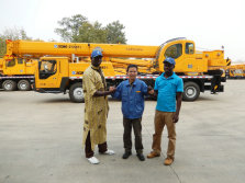 African customer visit XCMG