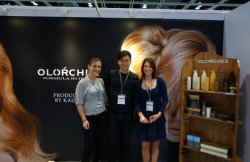 Italy Partner visit us at Cosmoprof Asia