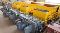 Large span hollow core slab machine