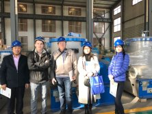 Russia clients visiting our factory and workshop