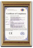 CE certificate for USB cable