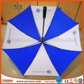 30*8k Auto Open Golf Umbrella with silk Printing logo