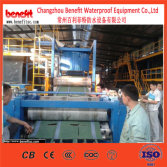 Colored asphalt shingle production line