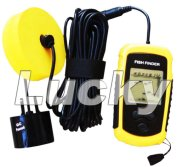 Portable Fishfinder, Fishing Tackle, Fish Finder (FF1108-1) (1 Years Warranty Time)