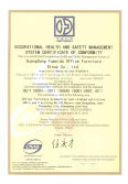 OCCUPATIONAL HEALTH AND SAFETY MANAGEMENT SYSTEM CERTIFICATE OF CONFORMITY