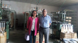 customer in factory