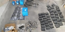 Loader spare parts for our Europe Agent