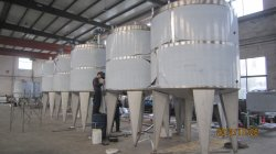 8m3 mixing tanks are under manufacturing