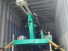 Hanfa Portable HF120W Water Well Drill Rig Shipped To Guinea