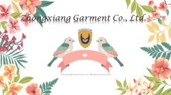 Welcome to Zhongxiang garment Co., Ltd