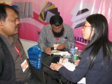 Customers from Exhibition