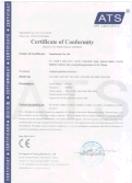 CE CERTIFICATION OF VERTICAL PACKING MACHINE