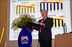 SBM Sponsored the China International Aggregate Conference in 2014