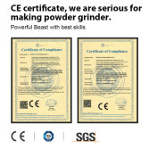 CE certificate of powder grinder