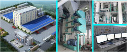 Completion Acceptance of Large Feed Production Line in Jiangsu Bufeng