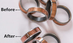 iron bearing degreasing