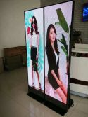 Led screen poster
