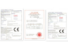 forklift and stacker Certificate