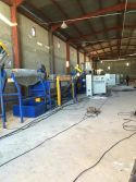 PET bottle recycling and pelletizing machine installed in Algeria