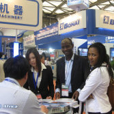 African Customer in Chinaplas