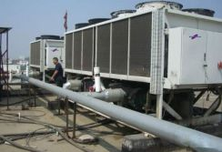 100Ton Cross Flow Type FRP Cooling Tower used for Power Plant in China