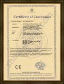 FCC Certificate for Business Card Scanner