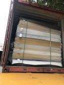 clear acrylic sheet loaded in one 20GP container