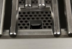 Hex rod stainless steel cooking grate