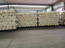 Warehouse for exporting glass wool