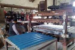 PVC sheet stamping equipment