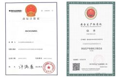 LOGO and Safety Production Standardization Certificate