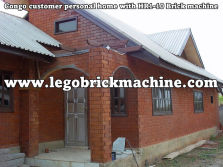 interlocking brick construction house