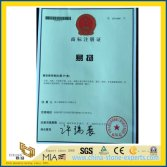 YEYANG Chinese Trademark Registration Certificate with NO 8551866 from YEYANG Stone Factory