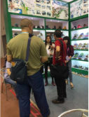 The client come to visit in Canton Fair