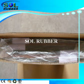 Rubber tile for supermarket package