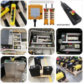 European Electric Wire Rope Hoist Electric Cabinet Box - Production Line-5