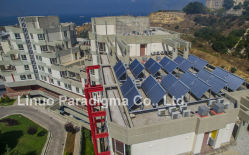 CPC solar collector project in Lebanon