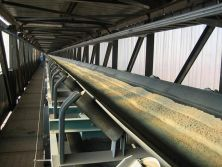 French Belt Conveyor Systom