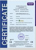 CE CERTIFICAION OF CONTACORS