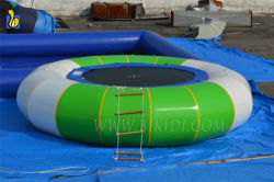 Outdoor Inflatable Water Trampoline, Inflatable Floating Water Toys for Sale D3017