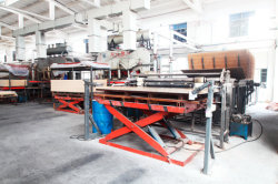 Hot pressing machine for Laminate Floor