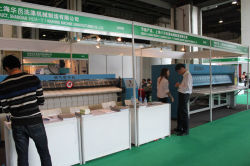 Exhibition for laundry machines