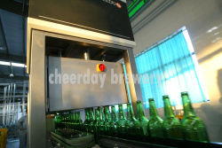 Machine for Checking Beer Bottles