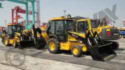 Backhoe loader to Chile