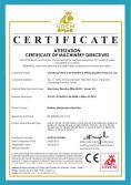 CE Certificate of Railway Maintenance Machine