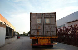 finishing loading container