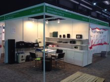 Suzhou Theftproof attends China Soucring Fair in Hong Kong in 2014.